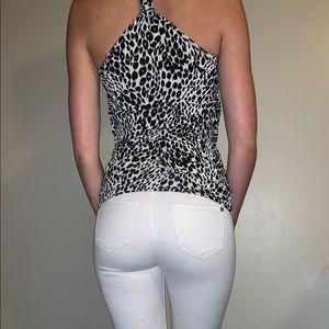 Cheetah print blouse🐾